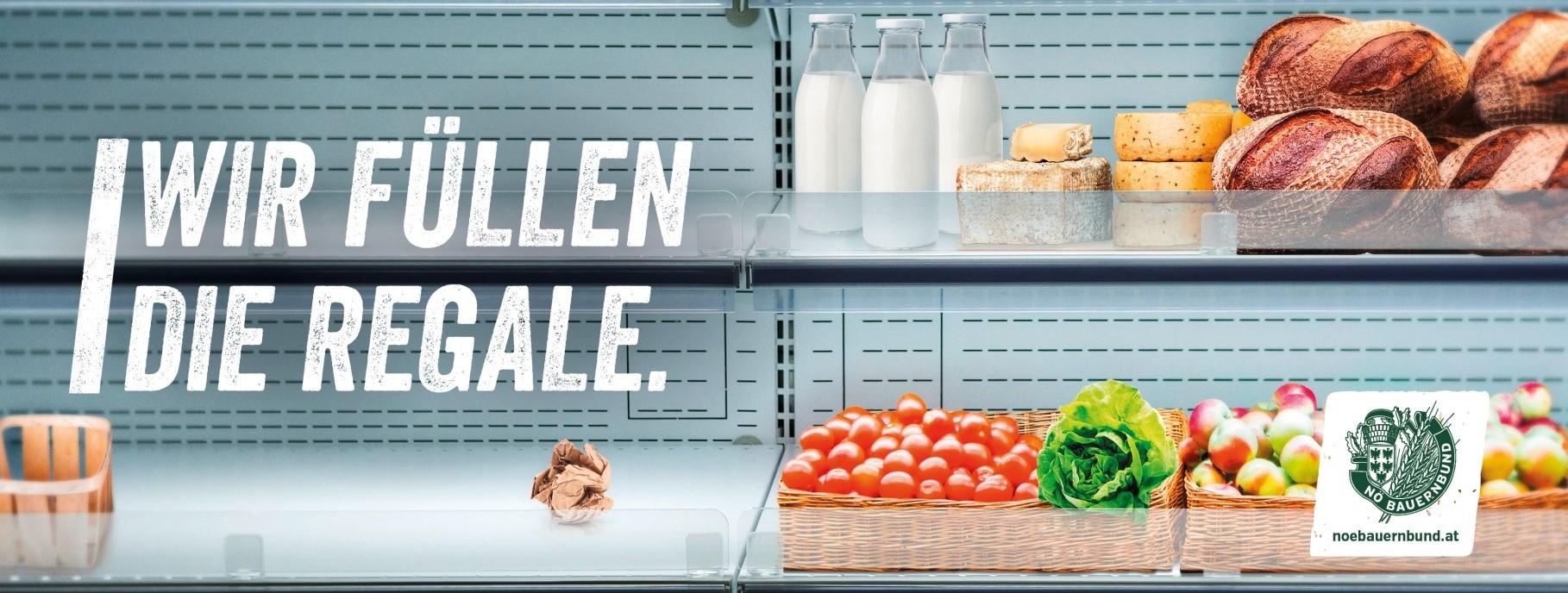 Tag der leeren Supermarktregale