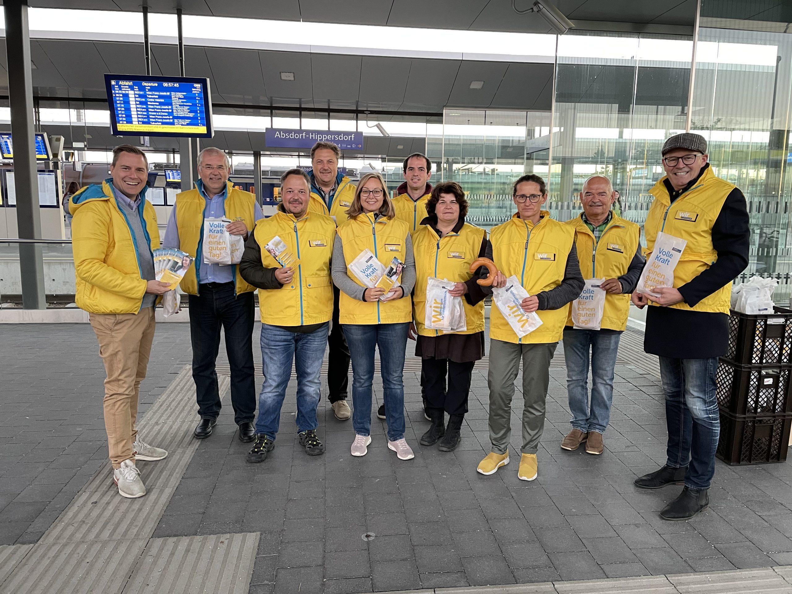 Billiger von Absdorf  nach Wien
